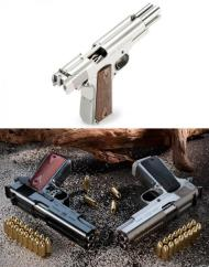 This gun was actually usedd by a hitman on a series called The Intruders.